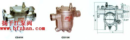 CS41H型自由浮球式疏水�y